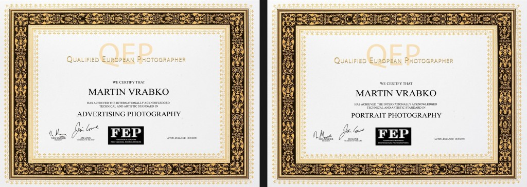 QEP Certifikates