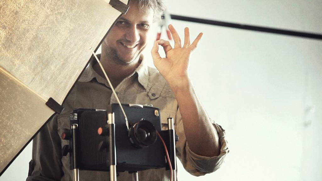 Martin Vrabko with camera